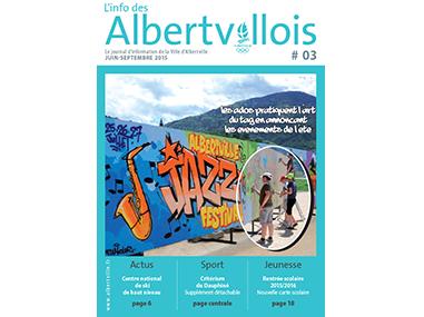 L'info des Albertvillois #03<br />JUIN – SEPTEMBRE 2015
