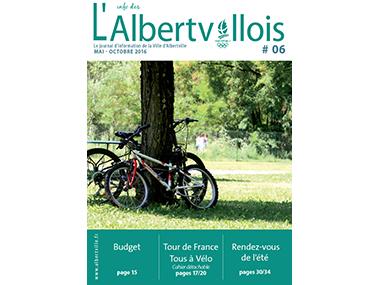 L'info des Albertvillois #06<br />MAI – OCTOBRE 2016