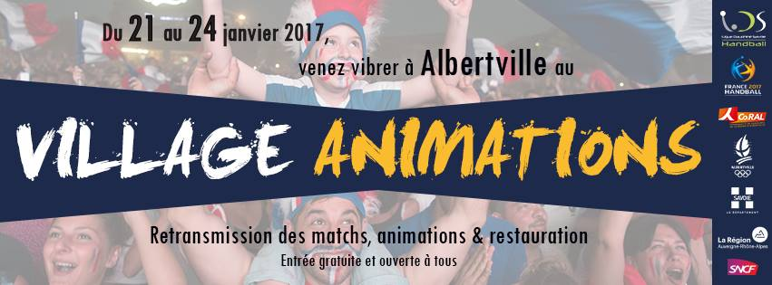 Village animations – Championnat du monde de handball