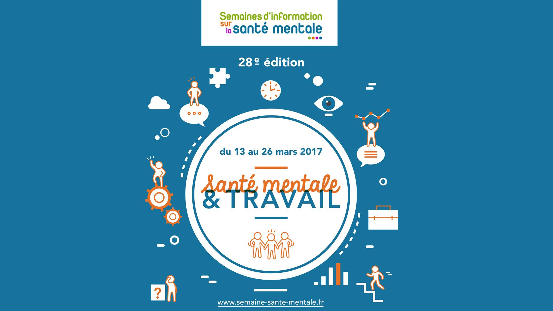 Semaine d'Information sur la Santé Mentale du 13 au 20 mars 2017