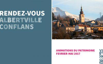 Programme animations patrimoine février-mai 2017