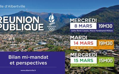 Réunions publiques «mi-mandat et perspectives» – mars 2017