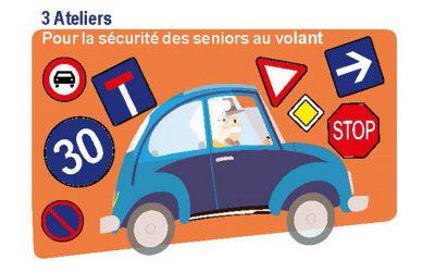 Ateliers sécurité des seniors au volant