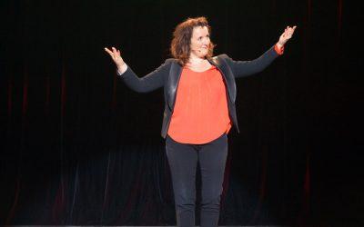 Anne Roumanoff était au Dôme Théâtre !