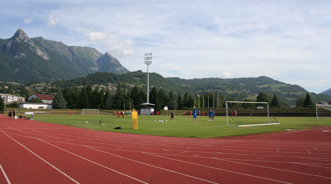 Le Nîmes Olympique en stage à Albertville