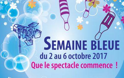 Semaine Bleue – Du 2 au 6 octobre 2017
