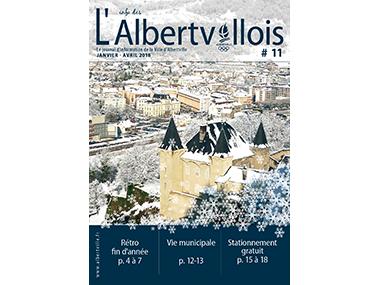 L'info des Albertvillois #11<br />JANVIER – AVRIL 2018