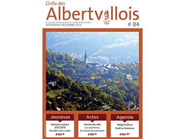 L'info des Albertvillois #04<br />NOVEMBRE – DECEMBRE 2015
