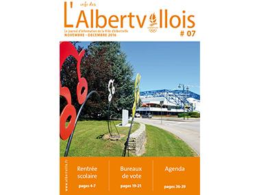 L'info des Albertvillois #07<br />NOVEMBRE – DECEMBRE 2016