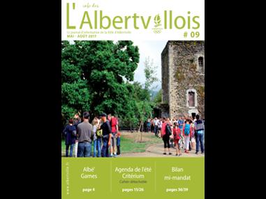 L'info des Albertvillois #09<br />MAI – AOÛT 2017