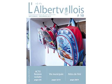 L'info des Albertvillois #10<br />SEPTEMBRE – DÉCEMBRE 2017