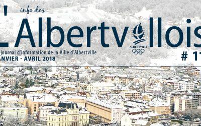 L'info des Albertvillois #11 est disponible en ligne !