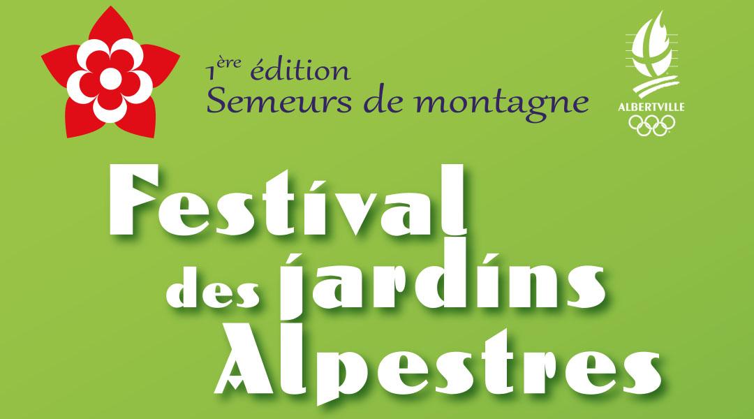 Festival des jardins alpestres : présentation des 3 jardins éphémères