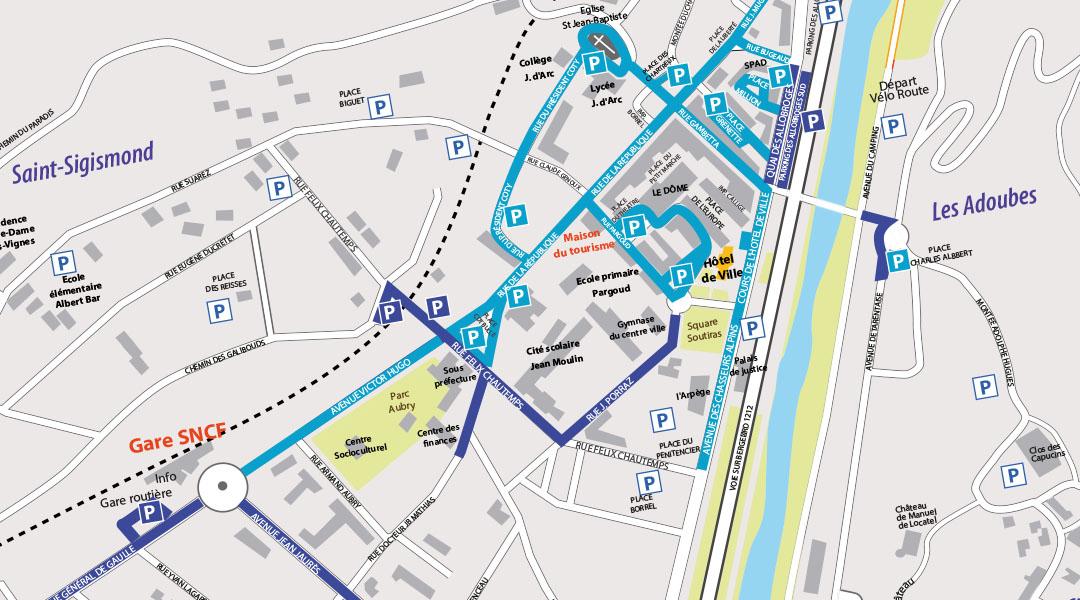 RAPPEL : stationnement zone bleue en centre-ville
