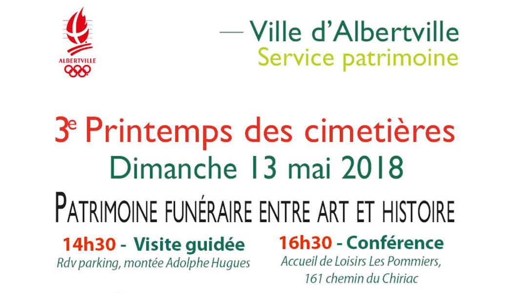 Printemps des cimetières – dimanche 13 mai 2018