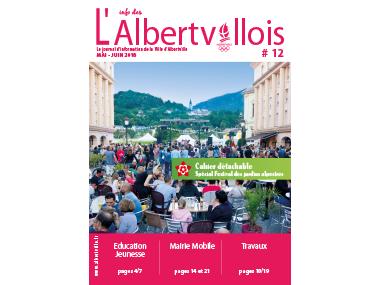 L'info des Albertvillois #12<br />MAI – JUIN 2018
