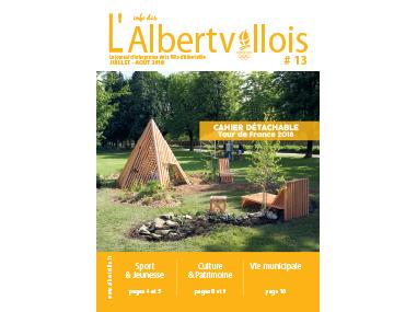 L'info des Albertvillois #13<br />JUILLET-AOÛT 2018