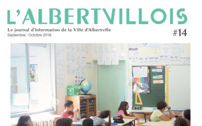 L'Albertvillois #14 Septembre – Octobre 2018 est en ligne !