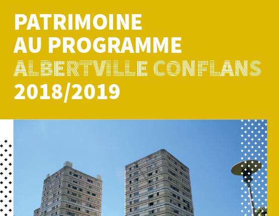 Patrimoine au programme 2018 / 2019