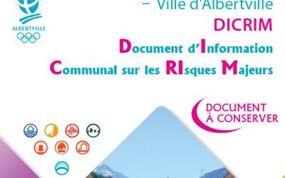 Document d'Information Communal sur les Risques Majeurs à télécharger