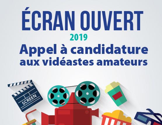 Écran ouvert 2019 – candidatures avant le 14 décembre 2018