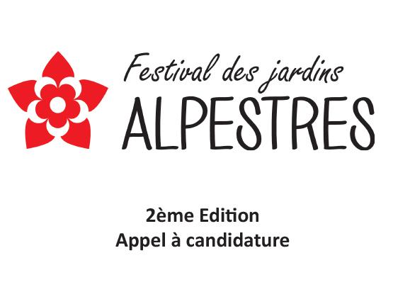 Festival des jardins alpestres 2019 – Appel à candidature