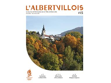 L'Albertvillois #15<br />NOVEMBRE-DECEMBRE 2018