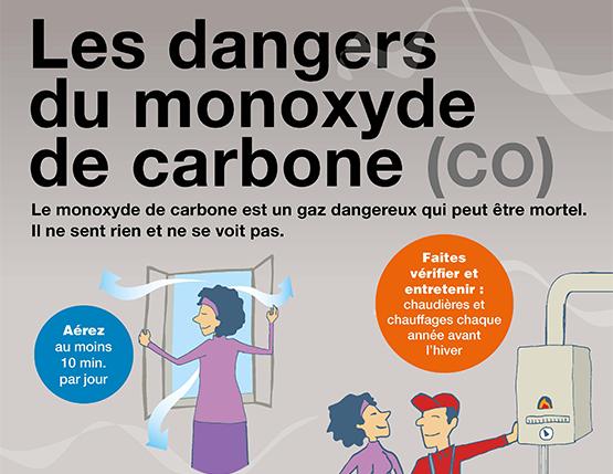 Prévention et Information sur le risque d'intoxication au monoxyde de carbone