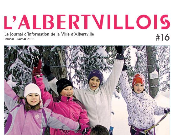L'Albertvillois #16 Janvier – Février 2019 est en ligne !