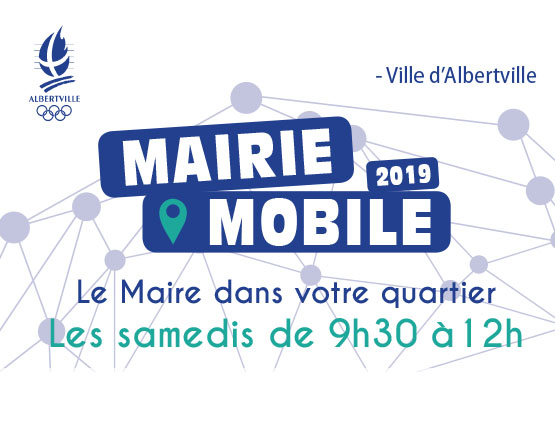 Mairie Mobile – Rendez-vous de mars à juin 2019