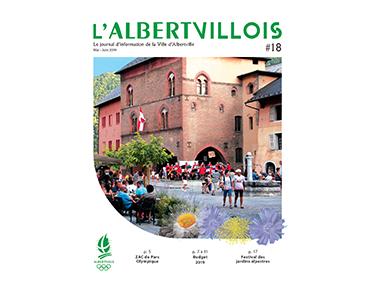 L'Albertvillois #18<br />MAI-JUIN 2019