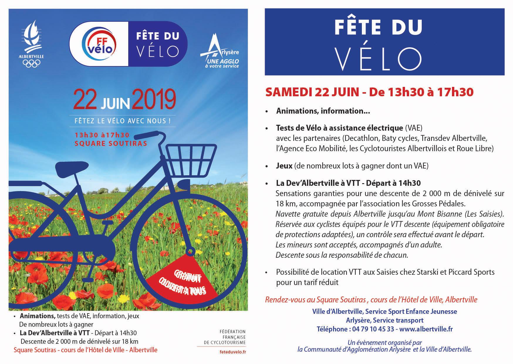 Fête du vélo - Ville d'Albertville