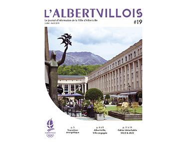 L'Albertvillois #19<br />JUILLET-AOUT 2019