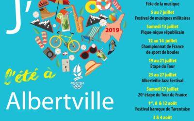 Programme de l'été à Albertville !