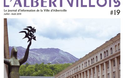 L'Albertvillois #19 Juillet-Août est en ligne !