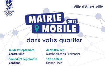Mairie Mobile – septembre à décembre 2019