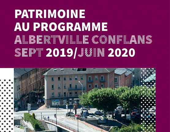 Patrimoine au programme 2019/2020