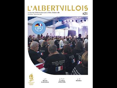 L'Albertvillois #21<br />NOVEMBRE-DÉCEMBRE 2019