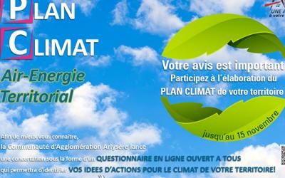Participez à l'élaboration du Plan Climat !