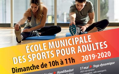 Ecole Municipale des Sports pour Adultes 2019/2020