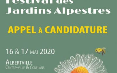 Festival des Jardins Alpestres 2020 : Appel à candidature