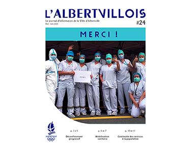 L'Albertvillois #24<br />MAI-JUIN 2020
