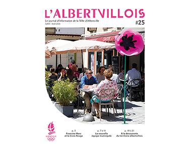 L'Albertvillois #25<br />JUILLET-AOÛT 2020