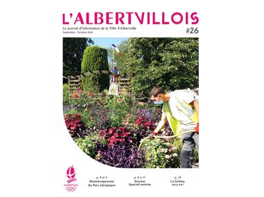 L'Albertvillois #26<br />SEPTEMBRE-OCTOBRE 2020