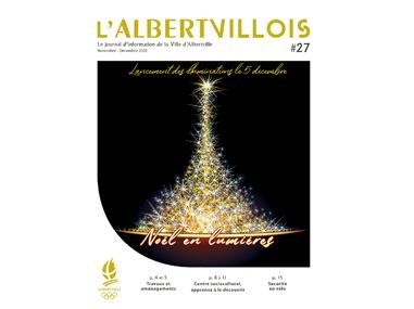 L'Albertvillois #27<br />NOVEMBRE-DÉCEMBRE 2020