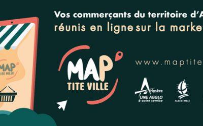 Soutenez les commerçants d'Albertville avec MAPtite ville
