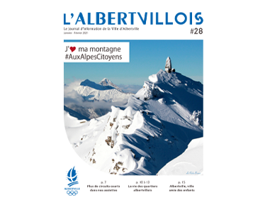 L'Albertvillois #28<br />JANVIER-FÉVRIER 2021