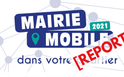 La Mairie mobile fait son retour pour 2021 : attention, report