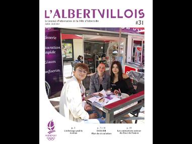 L'Albertvillois #31<br />JUILLET-AOÛT 2021