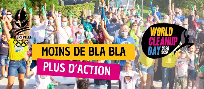Participez à la Journée mondiale du nettoyage de notre planète à Albertville